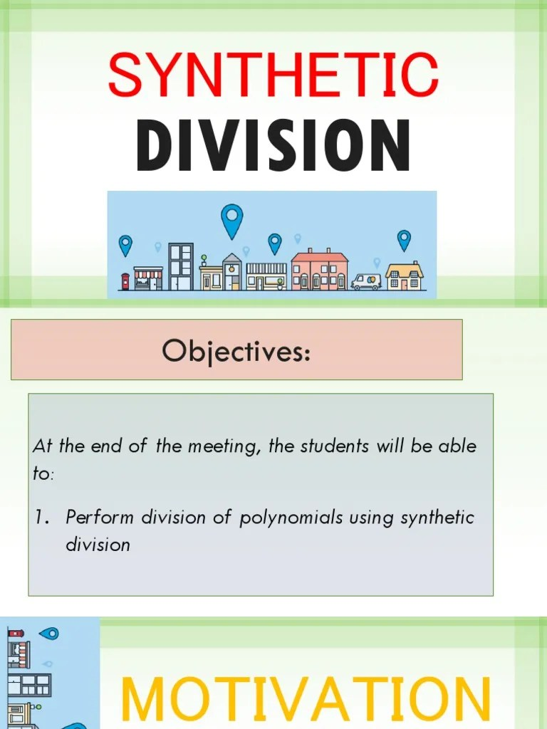 small resolution of 5. PolyFunc Synthetic Division   Division (Mathematics)   Abstract Algebra