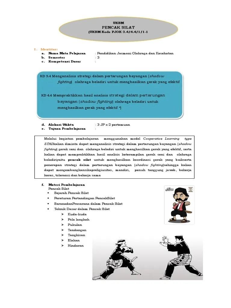 Dalam Praktiknya Pertandingan Pencak Silat Dilangsungkan Dalam : dalam, praktiknya, pertandingan, pencak, silat, dilangsungkan, UKBM_PJOK_XI_PENCAK, SILAT.docx