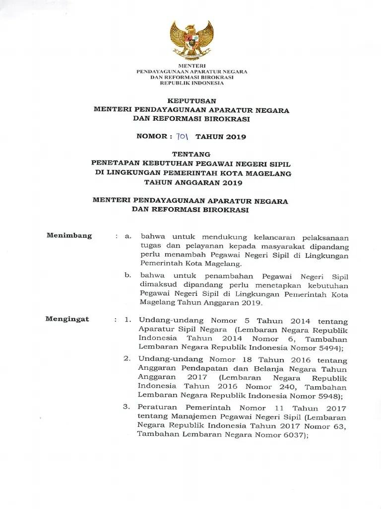 Cpns Kota Magelang : magelang, Formasi, Magelang, Tahun, [onlineschool.name].pdf