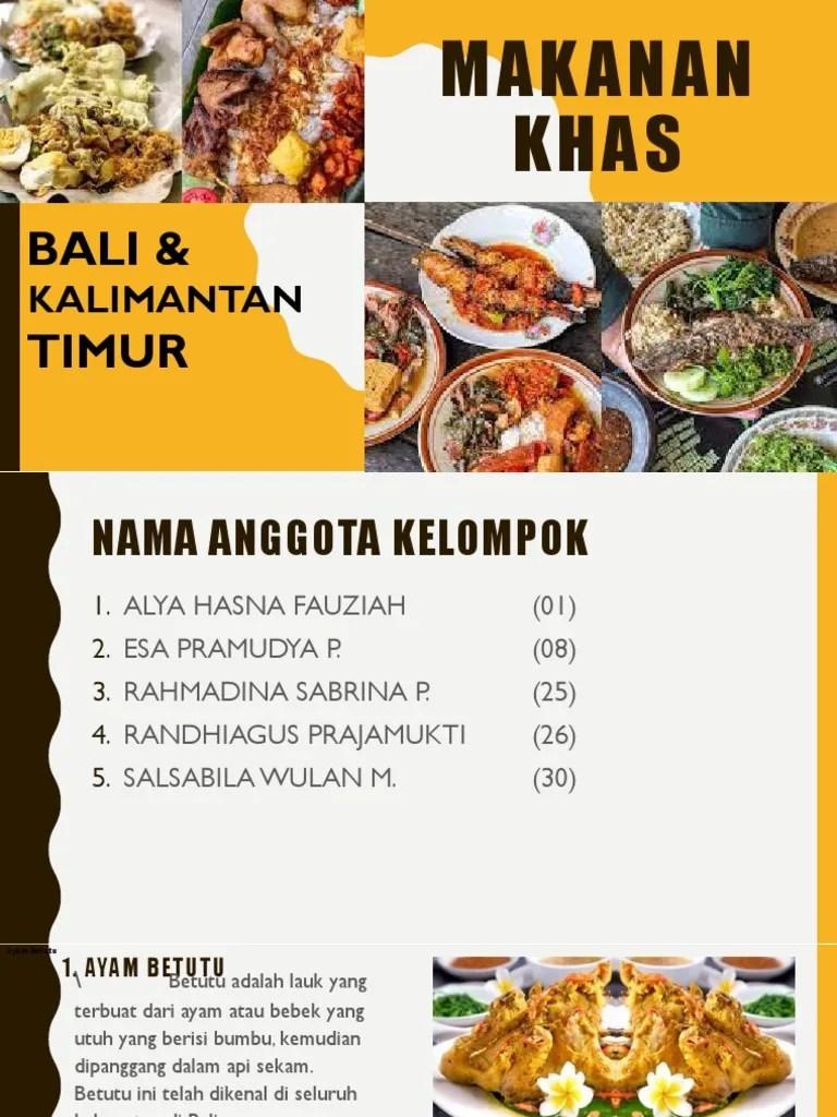 Makanan Khas Kalimantan Timur : makanan, kalimantan, timur, Makanan, Kaltim