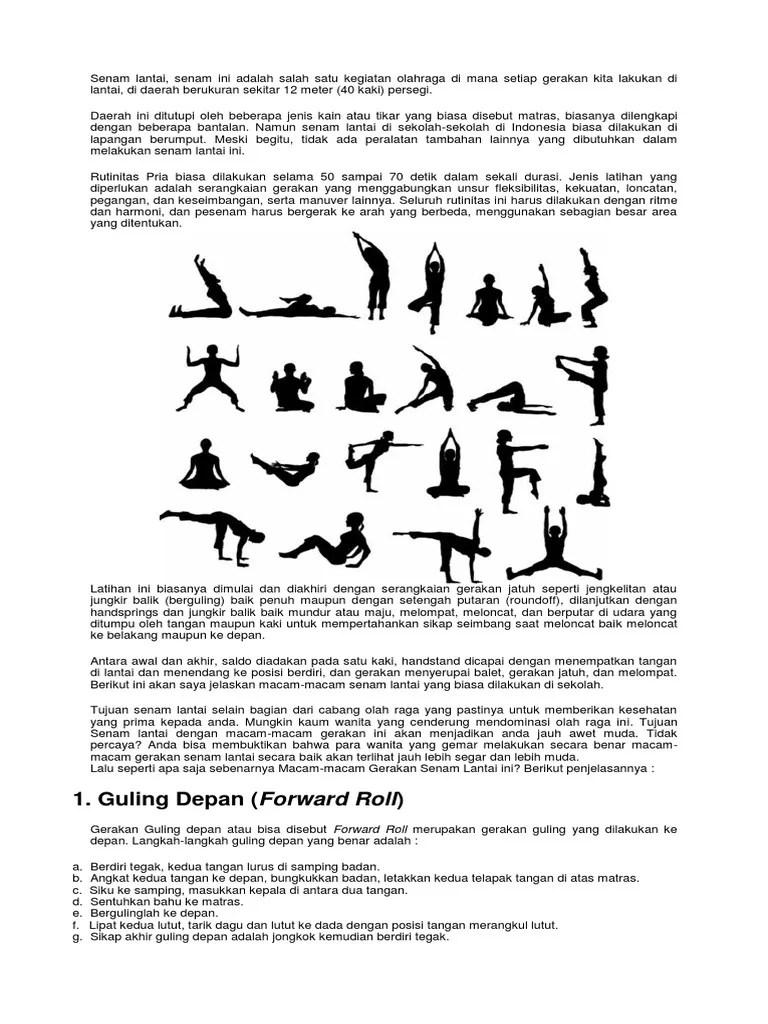 Gerakan Round Off : gerakan, round, SENAM