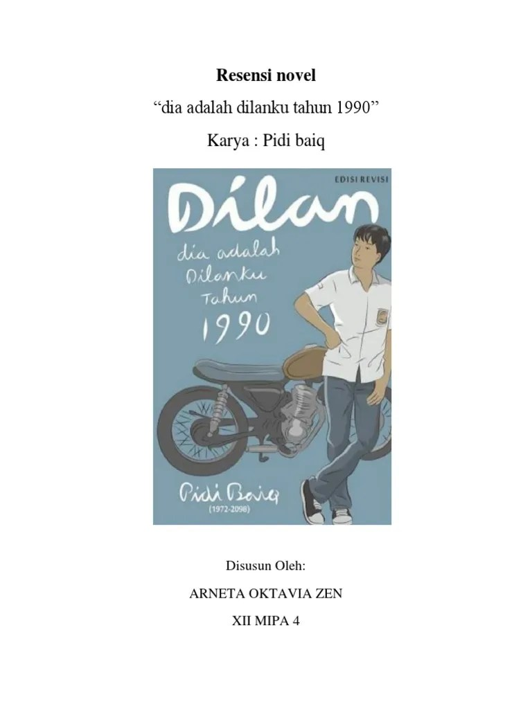 Resensi Novel Dilan 1991 : resensi, novel, dilan, Resensi, Novel, Dilan