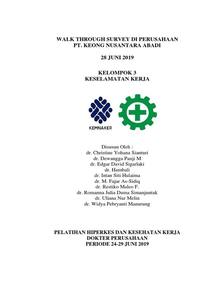 Pt Keong Nusantara Abadi : keong, nusantara, abadi, Through, Survey, Perusahaan, Keong, Nusantara, Abadi