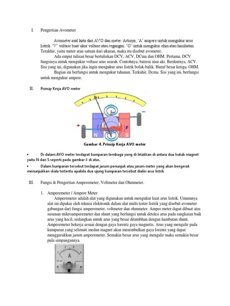 Pengertian Avometer : pengertian, avometer, PENGERTIAN, AVOMETER