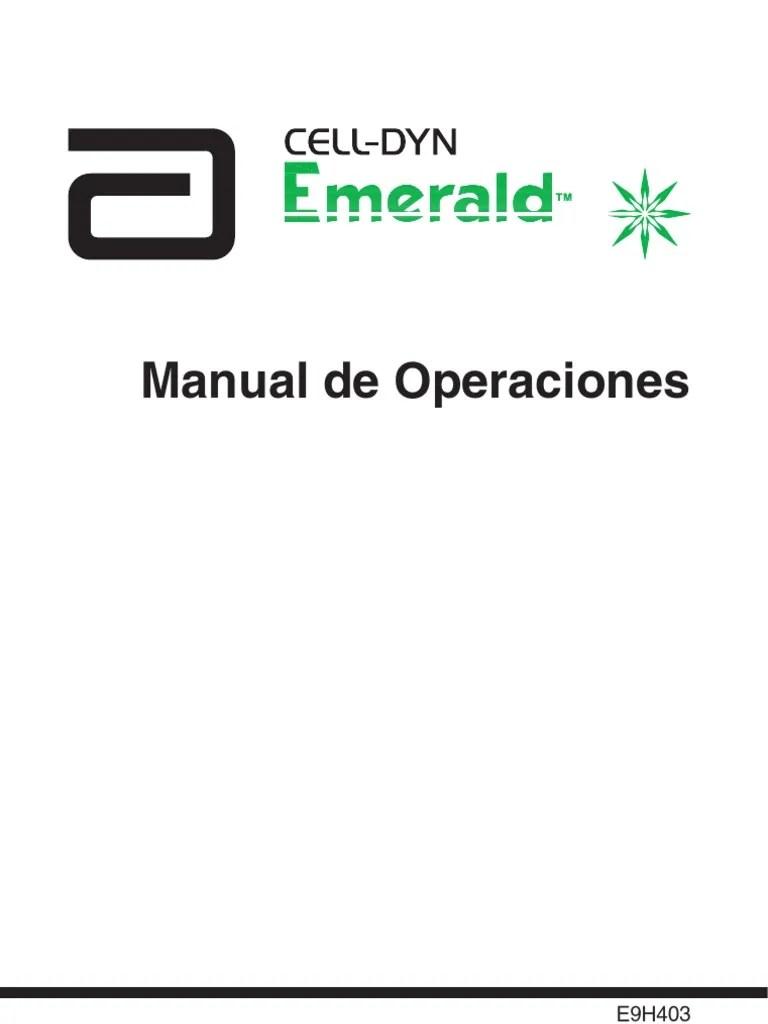 Cell-Dyn Emerald Manual