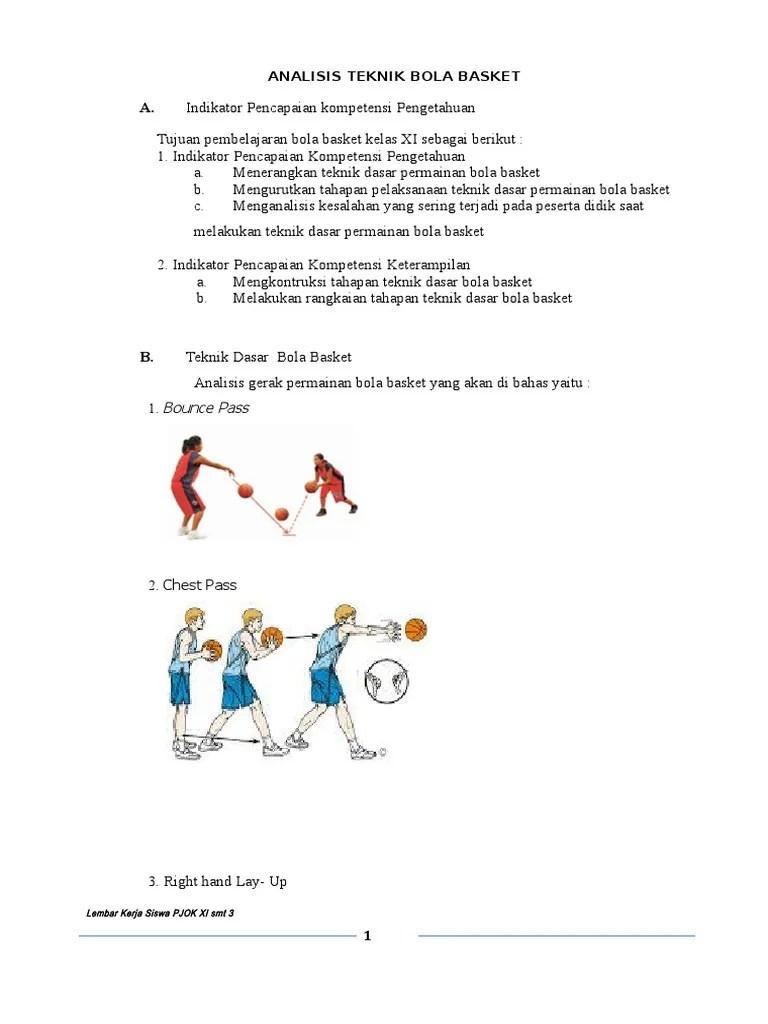 3 Teknik Dasar Bola Basket : teknik, dasar, basket, 130999_3., Analisis, Teknik, Dasar, Basket.doc
