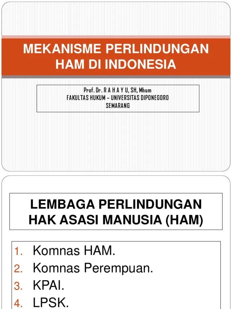 4 Lembaga Perlindungan Ham Di Indonesia : lembaga, perlindungan, indonesia, 194218_MEKANISME, NASIONAL