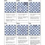 Chess Moves Beginners Cheat Sheet Pdf