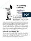 CIA Lock Picking Field Operative Training Manual