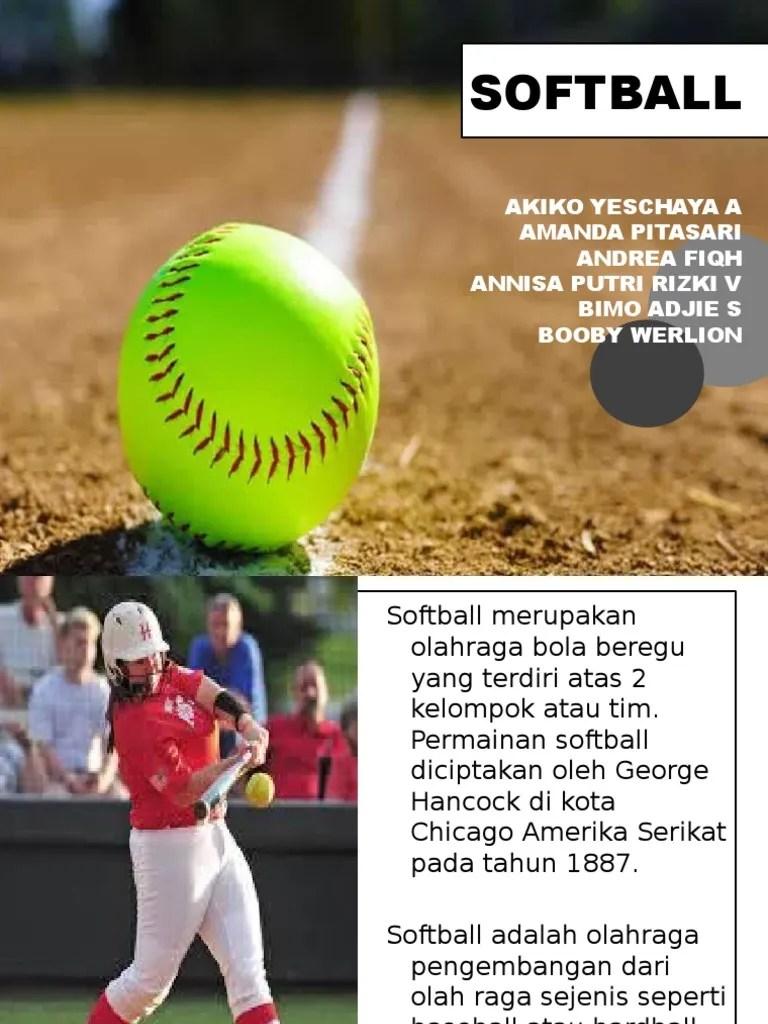 Permainan Softball : permainan, softball, SOFTBALL.pptx