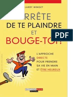 Prendre Sa Vie En Main Pdf : prendre, Arrête, Plaindre, Bouge-toi.pdf, Vérité