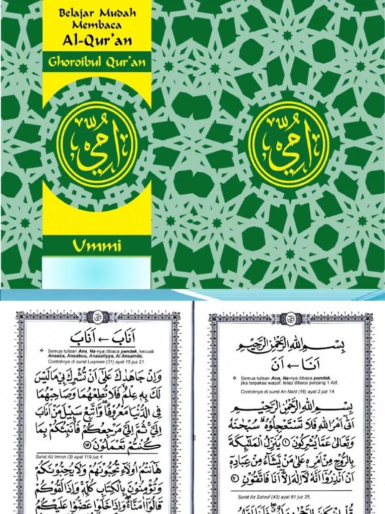 Download Buku Metode Ummi Pdf : download, metode, 10.Slide, Ghoroibul, Qur'An