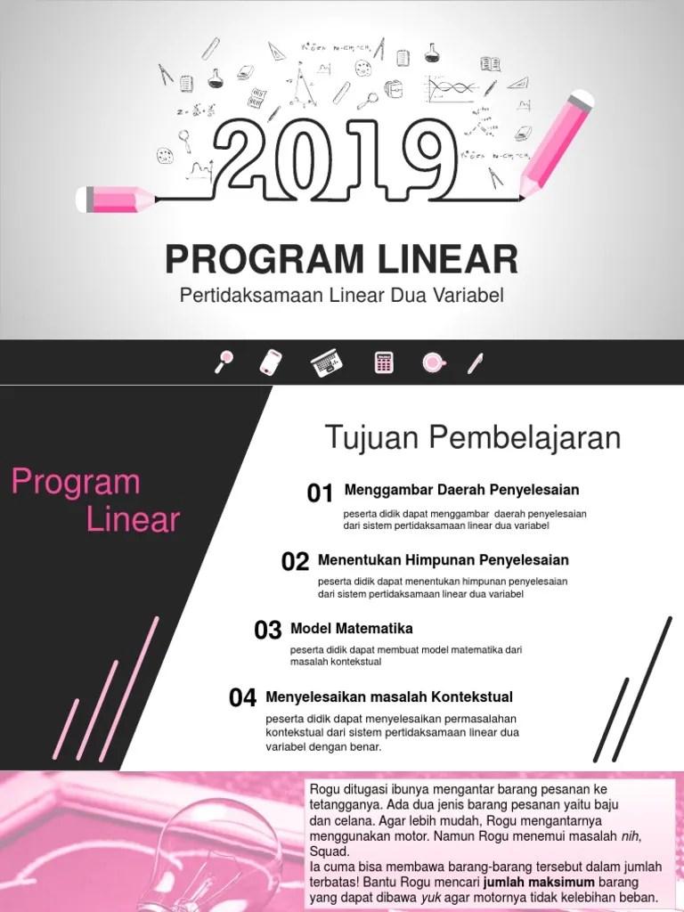 Program Linear Ppt : program, linear, PROGRAM, LINEAR.pptx