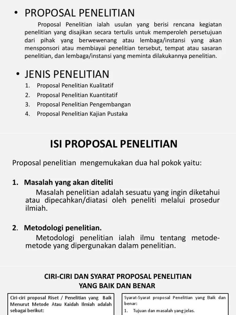 Materi Lengkap] Proposal: Definisi, Fungsi, Tujuan, Ciri