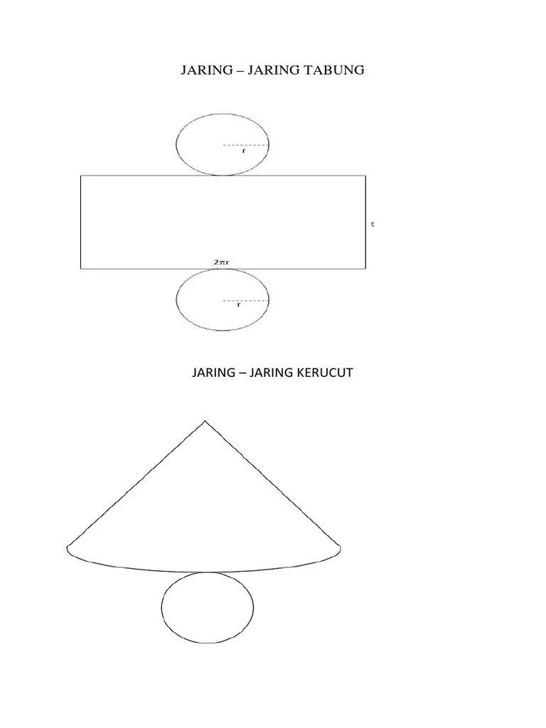 Jaring-jaring Tabung : jaring-jaring, tabung, JARING, TABUNG.docx