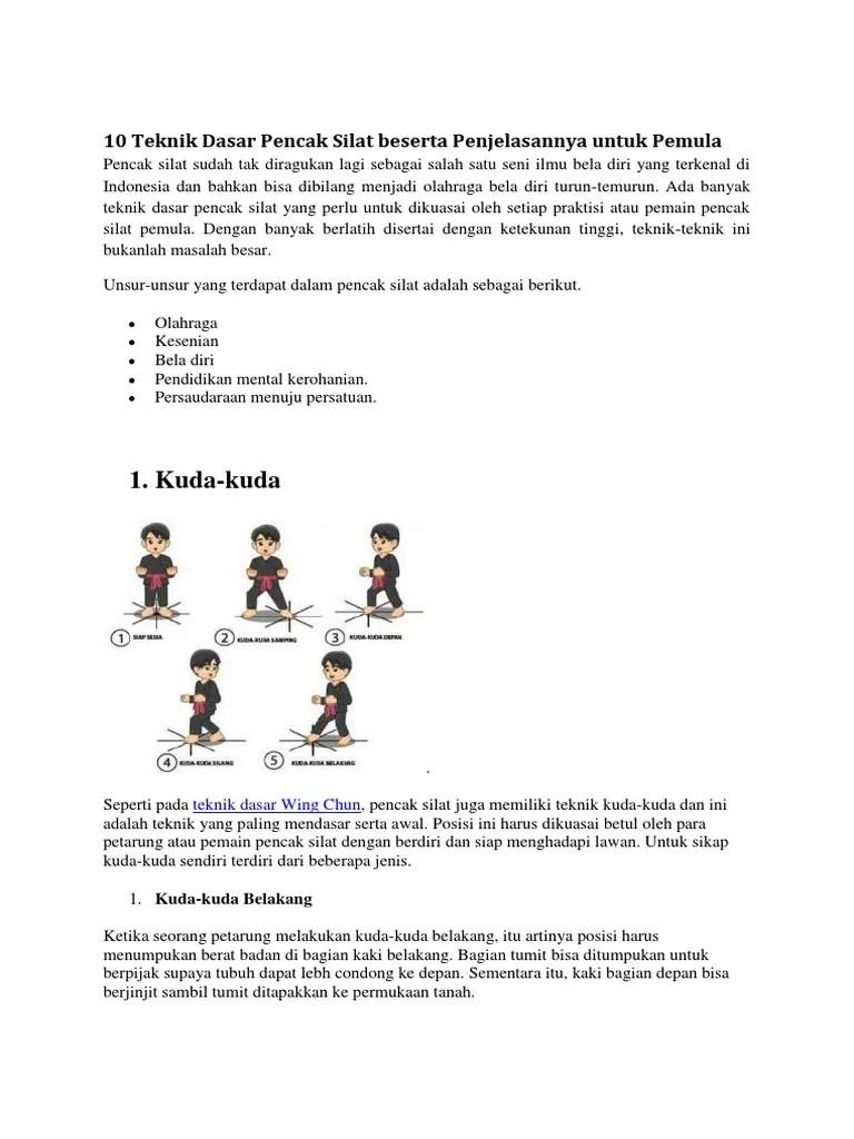 Unsur Unsur Yang Terkandung Dalam Pencak Silat : unsur, terkandung, dalam, pencak, silat, Teknik, Dasar, Pencak, Silat, Beserta, Penjelasannya, Untuk, Pemula.docx