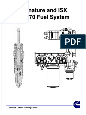Cummins Isx Fuel Pump Diagram : cummins, diagram, Docdownloader.com_signature-and-isx-cm870-fuel-system-cummins-ontario-train_63ca6a5a4347a836305c49dd1328606b, Injection, Technology, Engineering