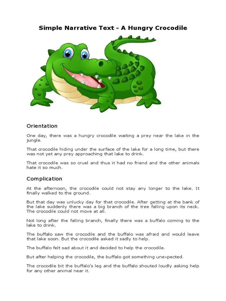 Contoh Narrative Text Bahasa Inggris : contoh, narrative, bahasa, inggris, Simple, Narrative, Bahasa, Inggris, Organisms, Nature