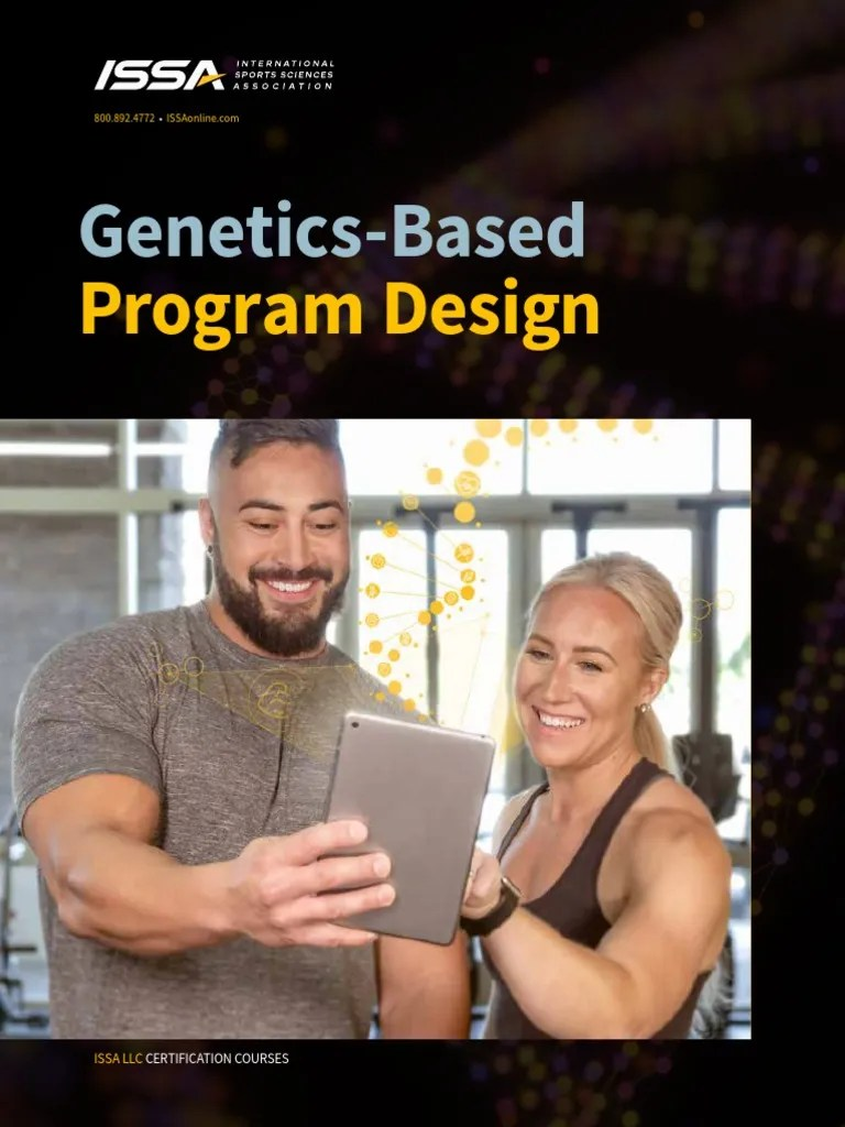 issa-dna-based-fitness-coach-chapter-preview | Single ...