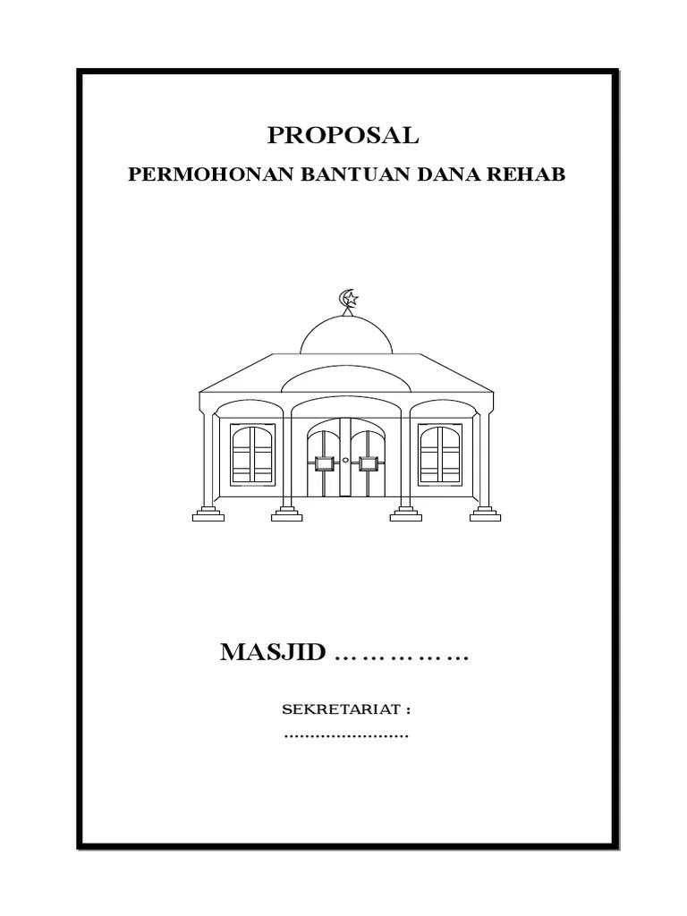 Proposal Masjid Doc : proposal, masjid, Proposal, Masjid.doc