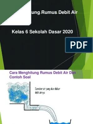 Rumus Debit Air : rumus, debit, DEBIT, 21-20