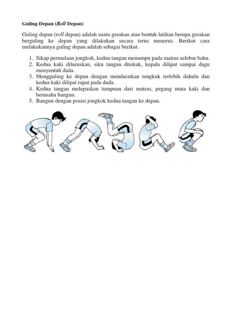 Cara Roll Depan : depan, Guling, Depan, (Roll, Depan)