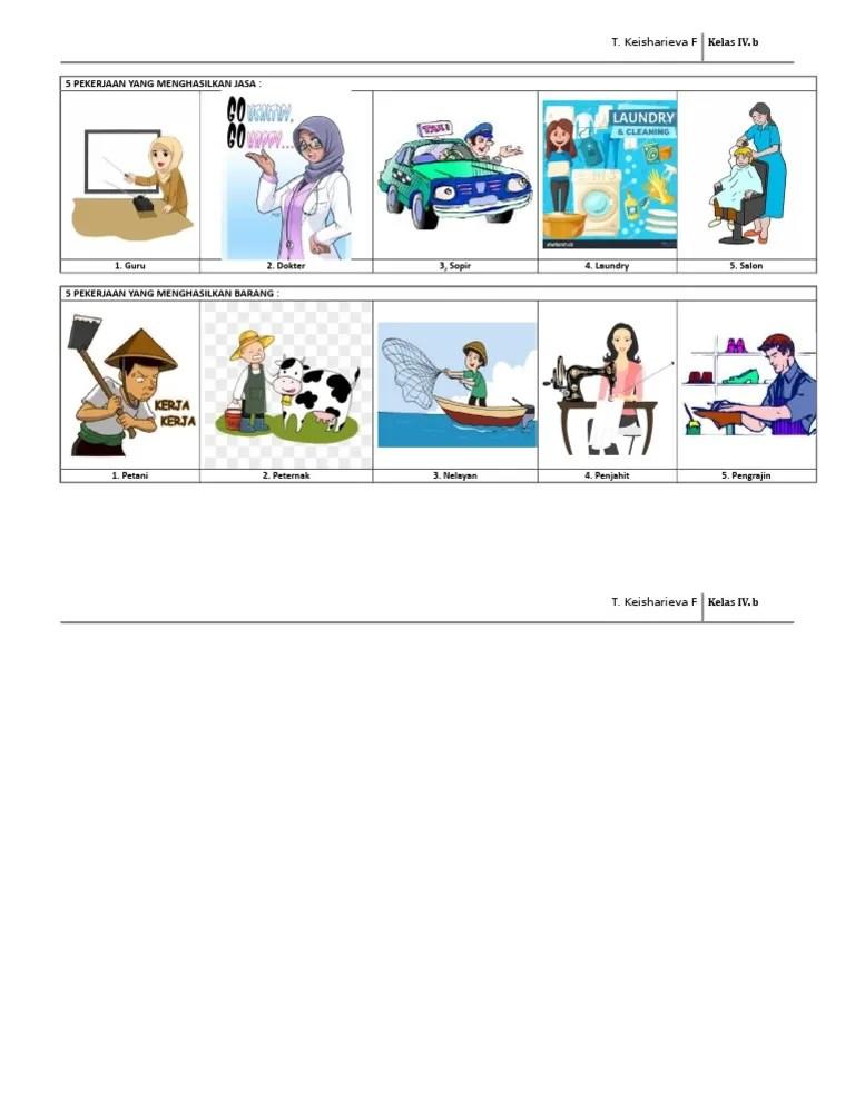 Pekerjaan Yang Menghasilkan Jasa : pekerjaan, menghasilkan, PEKERJAAN, MENGHASILKAN, BARANG