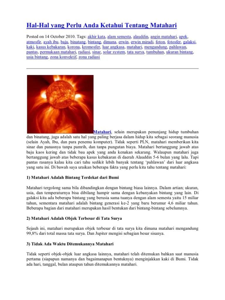 Fotosfer Matahari : fotosfer, matahari, Kromosfer, Korona