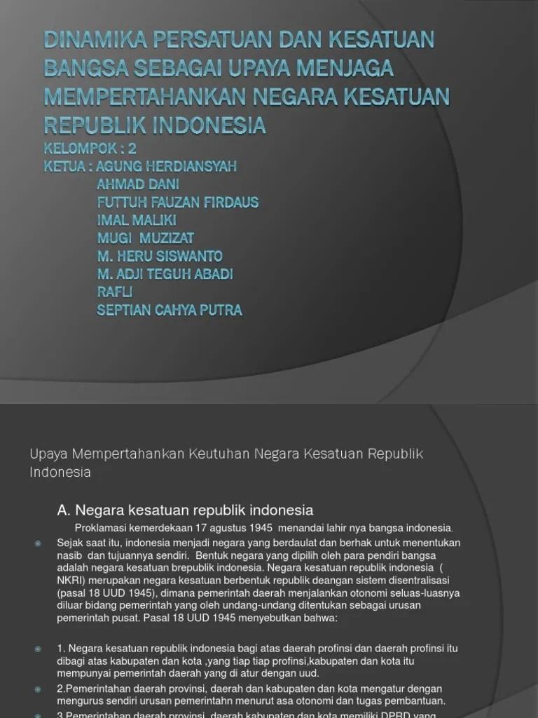 Dinamika Persatuan Dan Kesatuan Bangsa : dinamika, persatuan, kesatuan, bangsa, DINAMIKA, PERSATUAN, KESATUAN, BANGSA, SEBAGAI, UPAYA, MENJAGA
