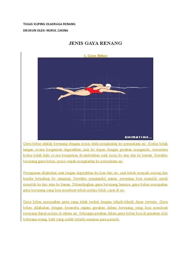 Posisi Tubuh Renang Gaya Bebas : posisi, tubuh, renang, bebas, RENANG.docx