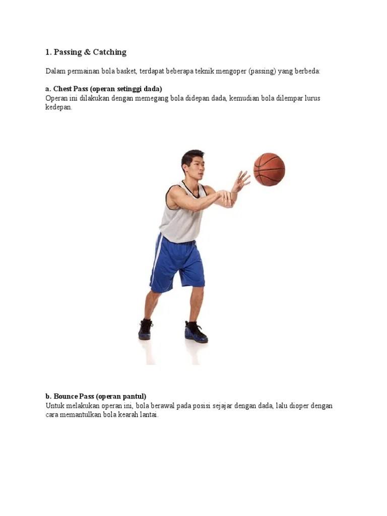 Cara Mengoper Bola Basket : mengoper, basket, Basket