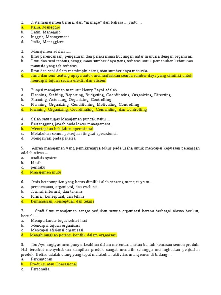 Sebutkan Empat Fungsi Manajemen Secara Umum : sebutkan, empat, fungsi, manajemen, secara, Manajemen, 1.doc