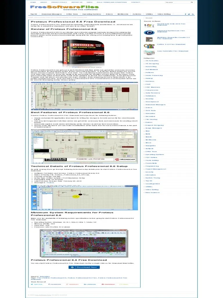 Download Proteus 8 Full Version : download, proteus, version, Proteus, Professional, Download.pdf, Operating, System, Computer, Architecture