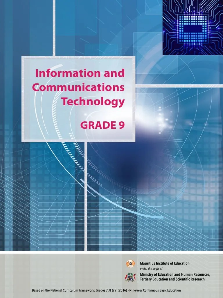 hight resolution of ICT Grade 9 Mie Book.pdf   Operating System   Computer Data Storage