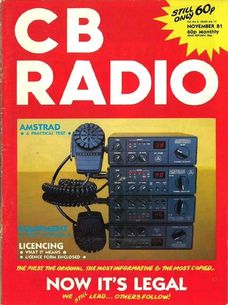 Cbradio November1981 Electrical Impedance Coaxial Cable