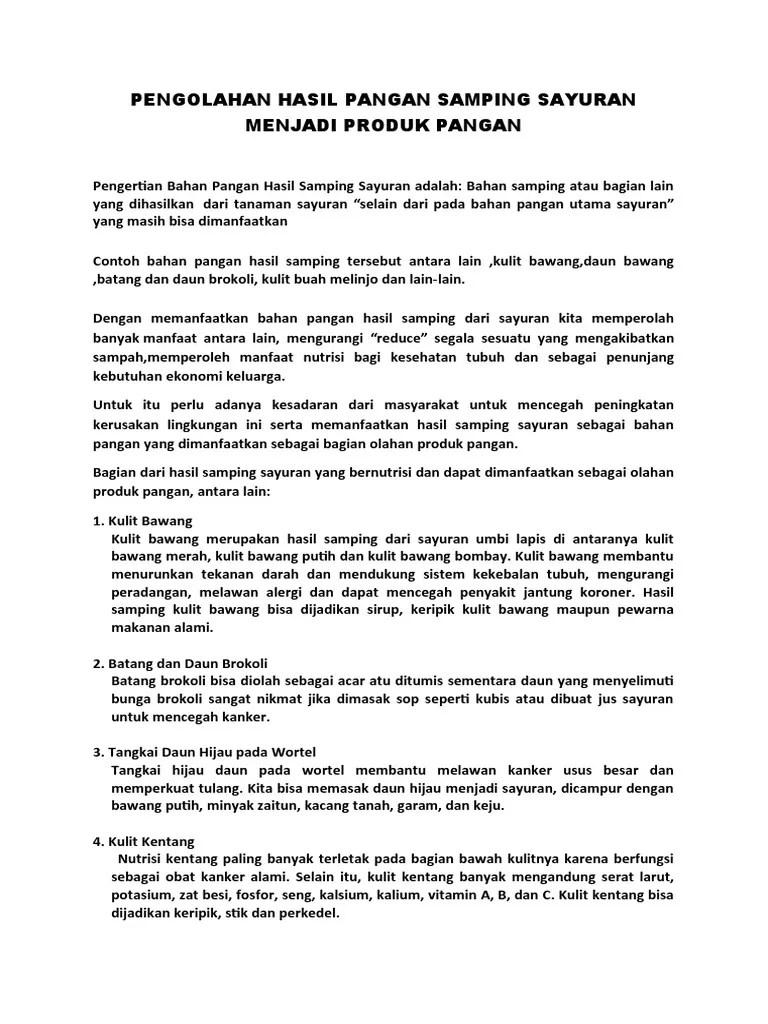 Kulit Bawang Merah Batang Brokoli Dan Kulit Kentang Merupakan : kulit, bawang, merah, batang, brokoli, kentang, merupakan, Tugas, Prakarya