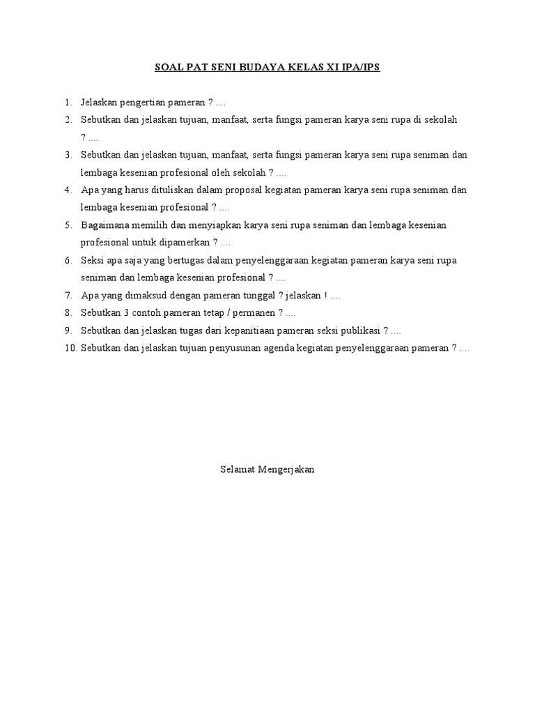 Apa Saja Fungsi Pameran Seni Rupa Di Sekolah : fungsi, pameran, sekolah, BUDAYA, KELAS, IPA.docx