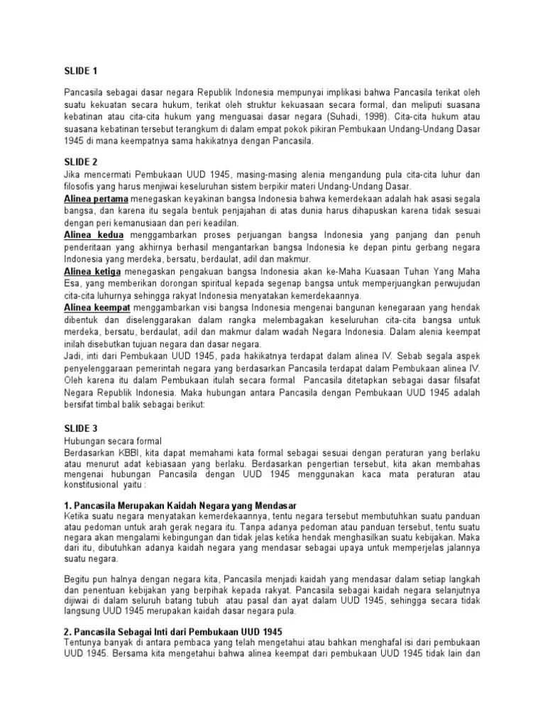 Suasana Kebatinan Atau Cita-cita Hukum Dasar Negara Ri Terangkum Dalam : suasana, kebatinan, cita-cita, hukum, dasar, negara, terangkum, dalam, Materi, Pancasila