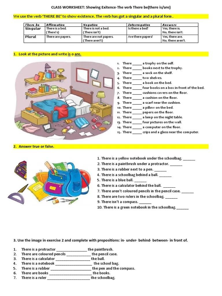 medium resolution of there-be-worksheet-worksheet-templates-layouts_101075   Morphology    Linguistic Morphology