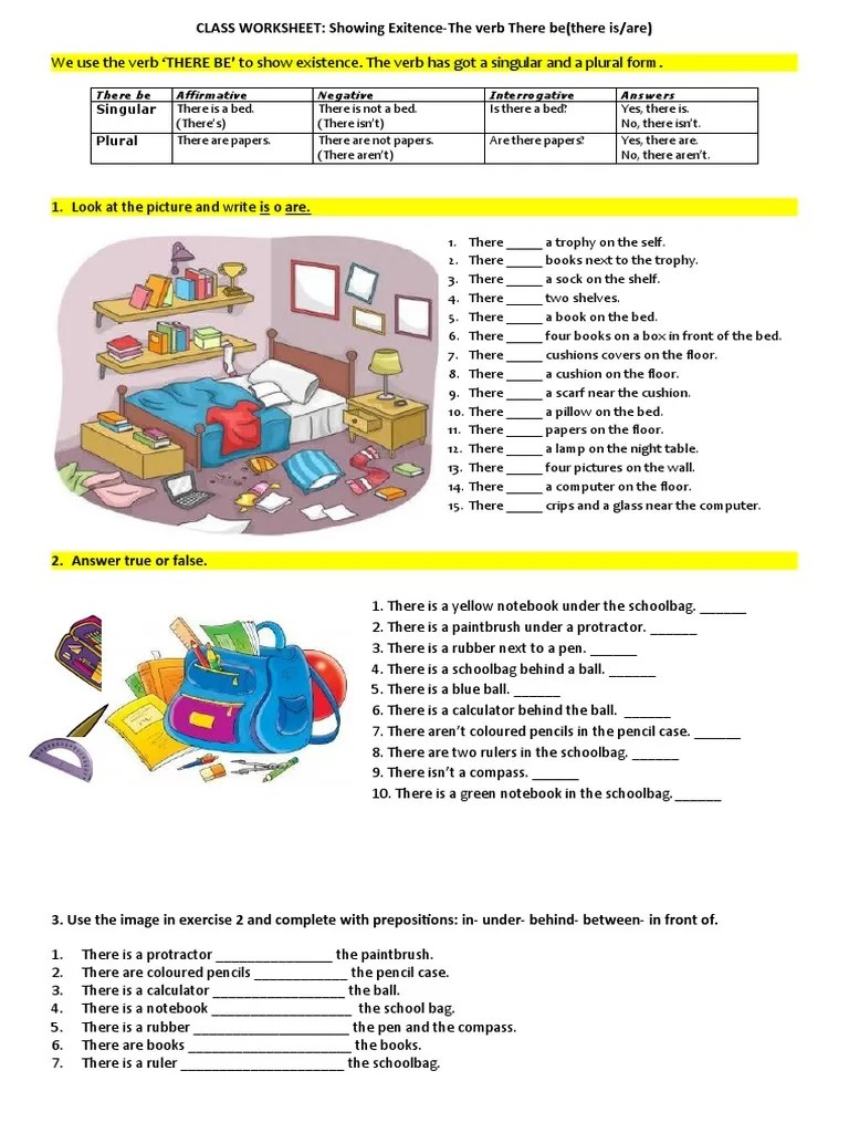 small resolution of there-be-worksheet-worksheet-templates-layouts_101075   Morphology    Linguistic Morphology