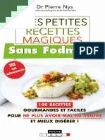 Mes Petites Recettes Magiques Sans Fodmaps Pdf : petites, recettes, magiques, fodmaps, Conseils_patients.pdf, Gluten, Sucre