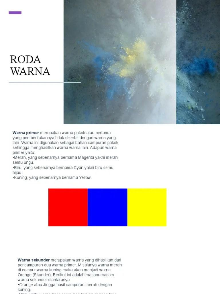 Macam Macam Warna Sekunder : macam, warna, sekunder, Slide, Warna