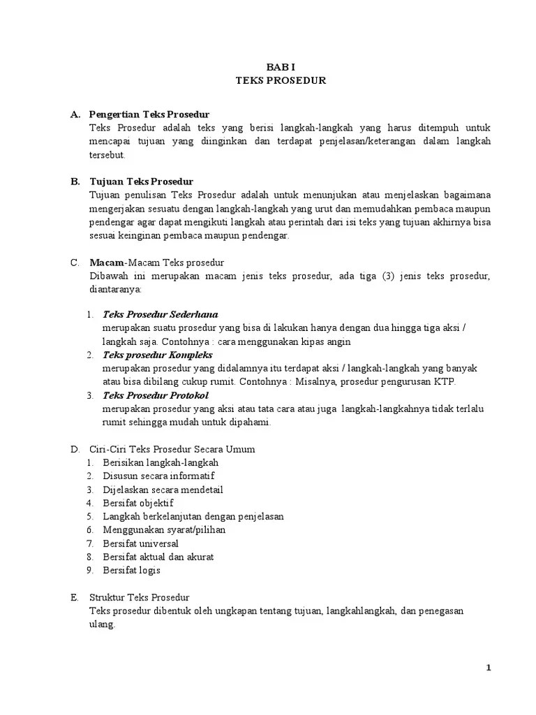 Struktur Teks Prosedur Kiat Menata Rambut Pendek : struktur, prosedur, menata, rambut, pendek, Prosedur