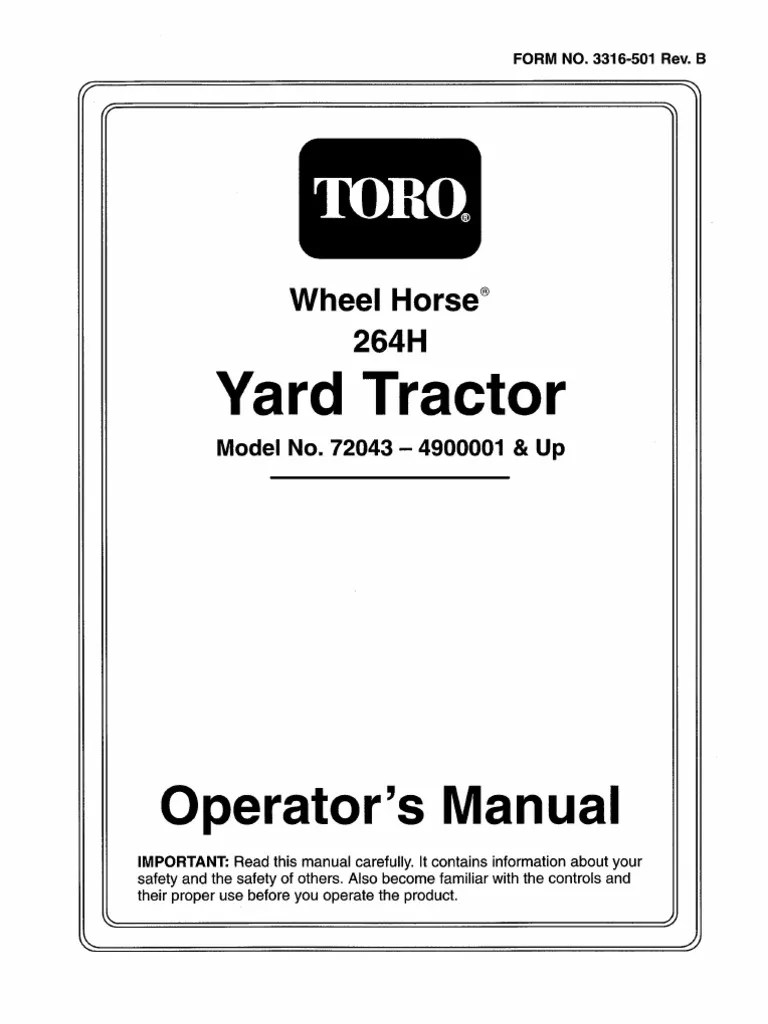 small resolution of toro 8 25 wiring diagram