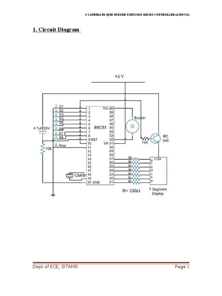 medium resolution of circuit diagram dept of ece sitams