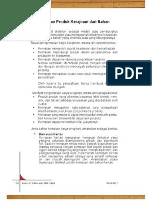 Manfaat Kemasan Produk Kerajinan : manfaat, kemasan, produk, kerajinan, Sebutkan, Tujuan, Pengemasan, Karya, Kerajinan, Ruang