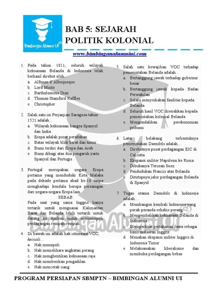 Tugas Utama Daendels : tugas, utama, daendels, BAB_5_POLITIK_KOLONIAL-dikonversi[1]