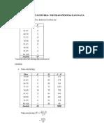 Contoh Soal Ukuran Pemusatan Data : contoh, ukuran, pemusatan, Kelompok, (Tambahan, Contoh, Ukuran, Pemusatan, Data)