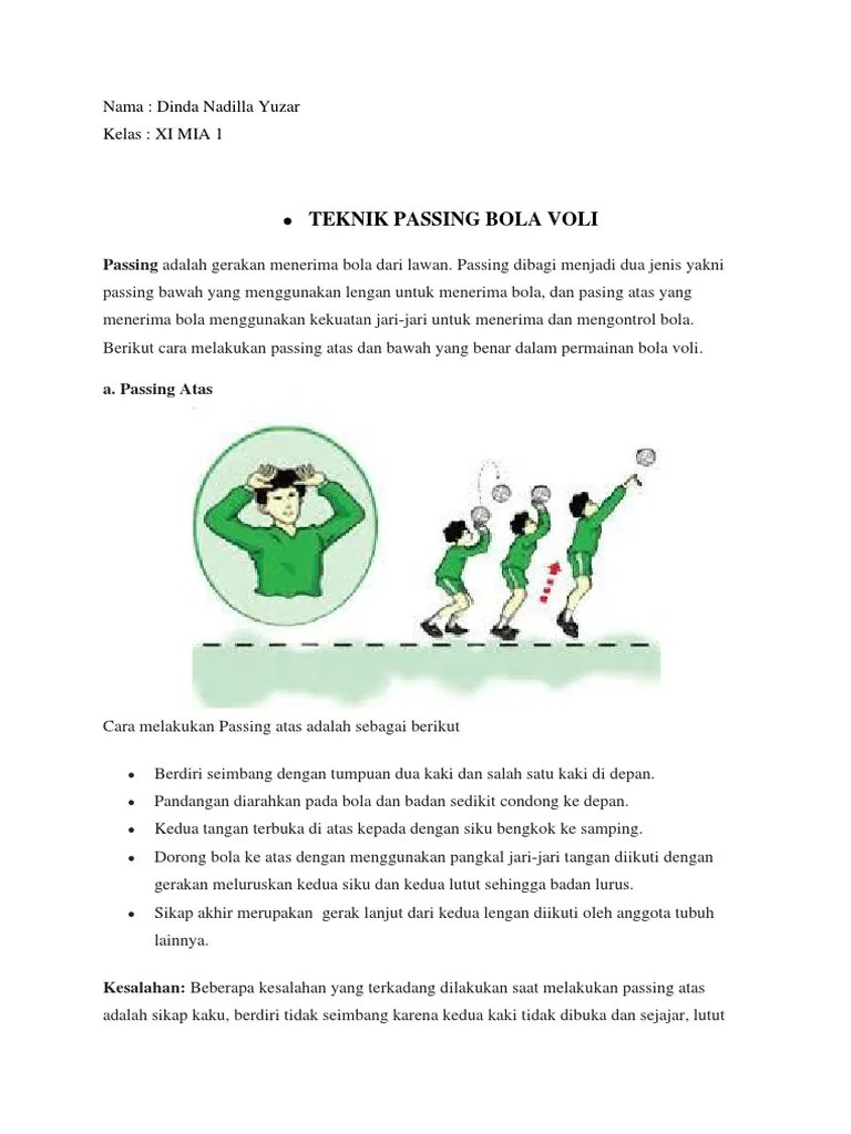Apa Saja Kesalahan Yang Sering Terjadi Pada Saat Melakukan Smash Pada Permainan Bola Voli : kesalahan, sering, terjadi, melakukan, smash, permainan, Tugas, Dinda-converted