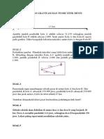 Teori Titik Henti : teori, titik, henti, TEORI, GRAVITASI, TITIK, HENTI+JAWAB
